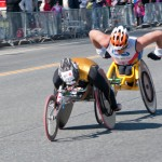 Men&#039;s Wheelchair Leaders - Boston Marathon