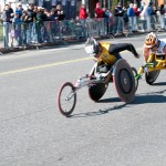 Men's Wheelchair Leaders - Boston Marathon