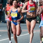 Women's Lead Pack - Boston Marathon