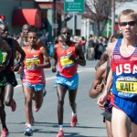 Ryan Hall Leads the 2011 Boston Marathon