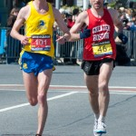 Alex Taylor - 2011 Boston Marathon