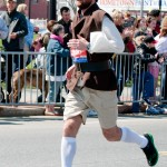 Colonial-era Runner Dude - Boston Marathon