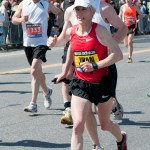 Joan Benoit Samuelson - 2011 Boston Marathon