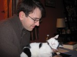 Jeff and kitty