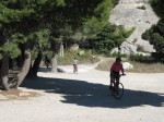On the way to Les Baux