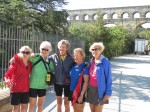Team Virginia at the Pont du Gard