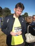 Affixing my race number