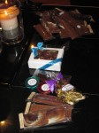 Scully's and my chocolate haul