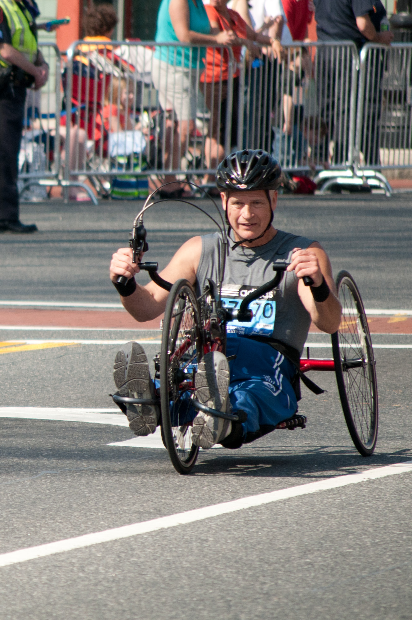 Handcycle Athlete