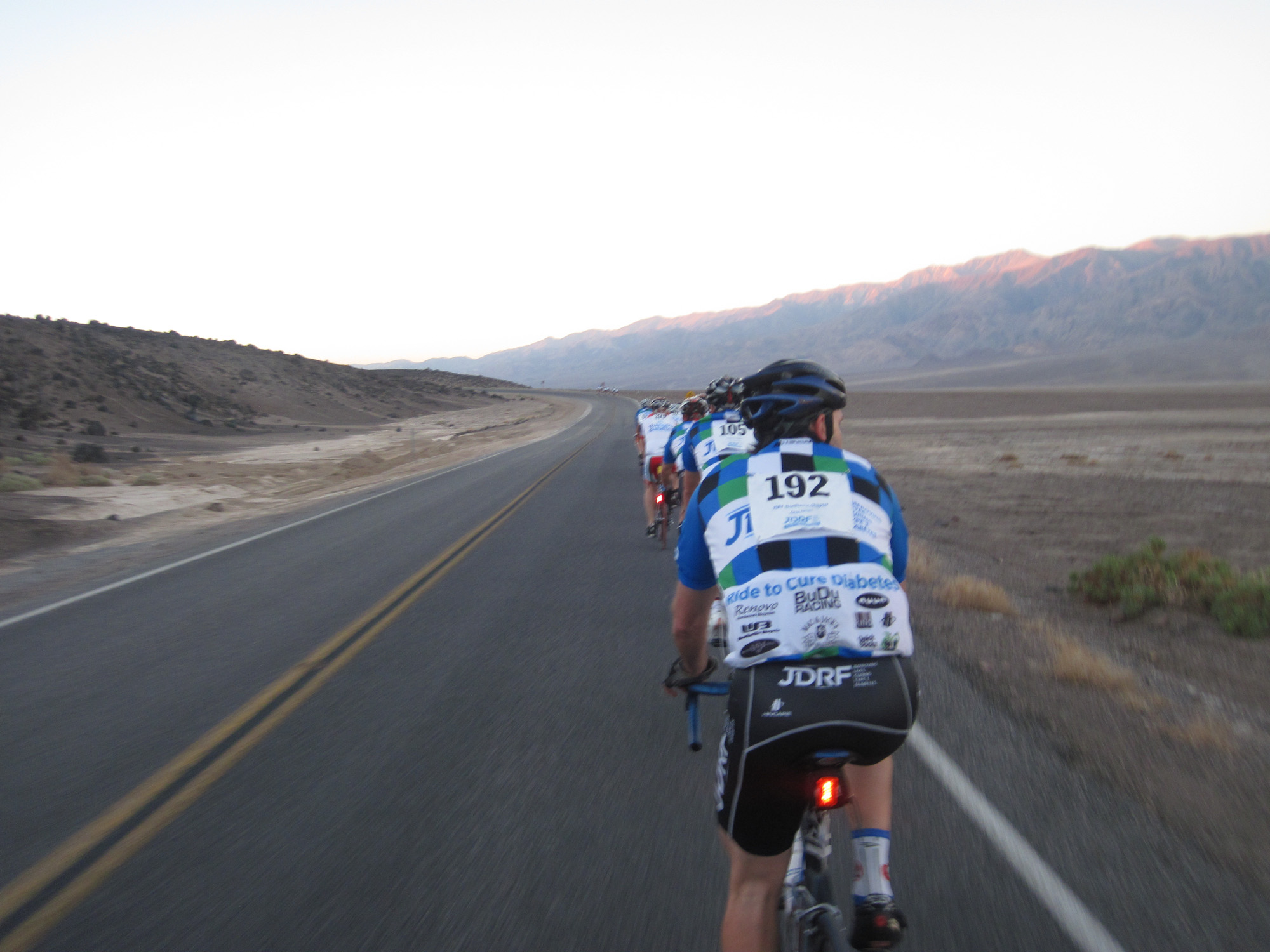 On the way to Badwater