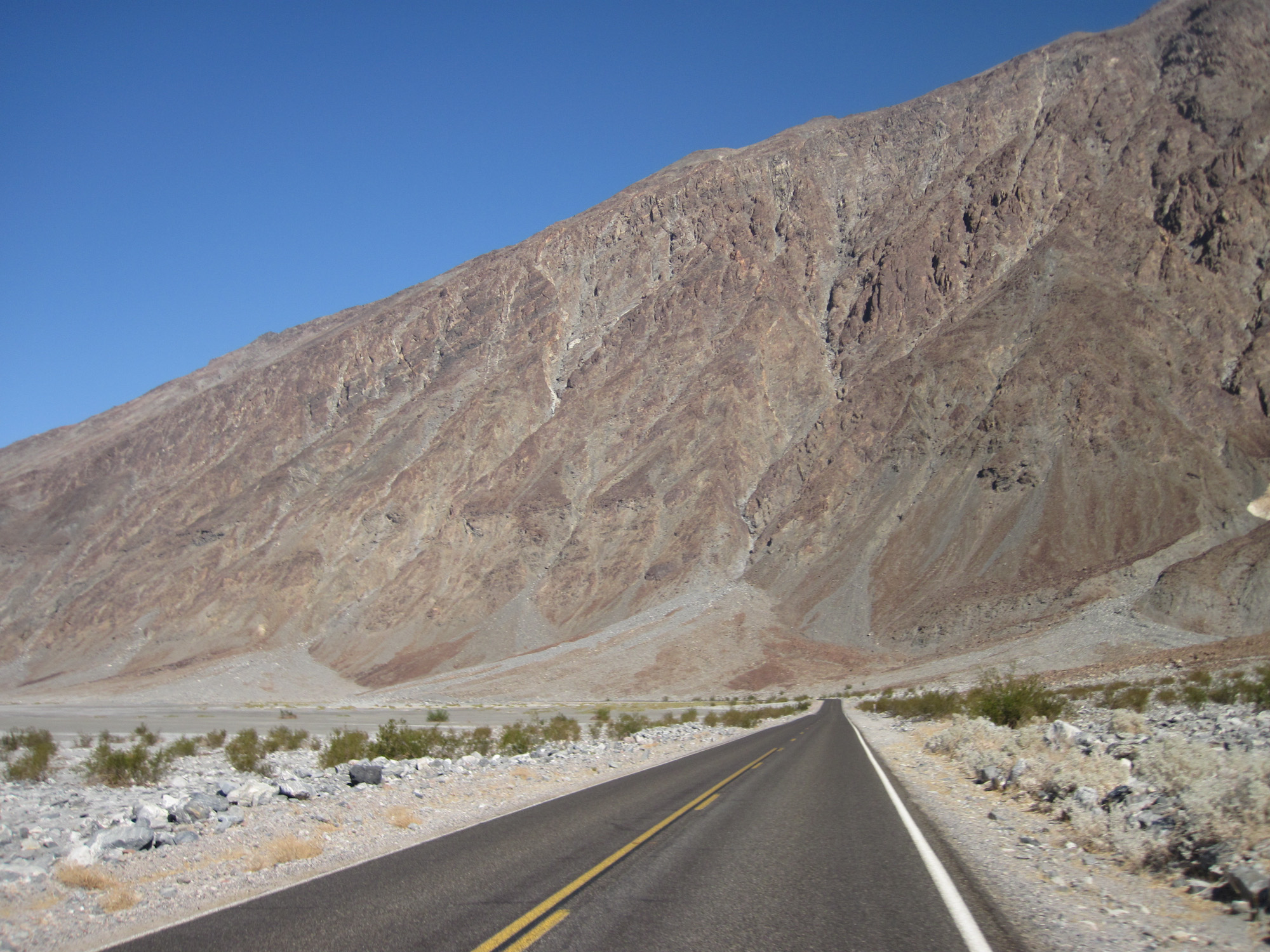 Heading to Badwater