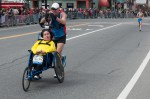 Gene Carter and Paul Appleby at mile 10 of the 2013 Boston Marathon