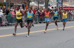 Lead men in the 2013 Boston Marathon