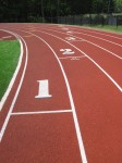 The Milford HS track