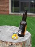 "B. Strong Duck says ""Don't drink and fly"""