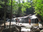 At Diana's Bath in the White Mountains