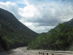 Crawford Notch descent. 13%!!