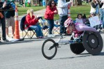 Wakako Tsuchida, 2014 Boston Marathon women's pushrim wheelchair runner-up