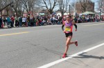 Lisa Bentley, 2014 Boston Marathon