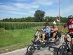 Recumbents and roosters