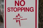 No stopping!