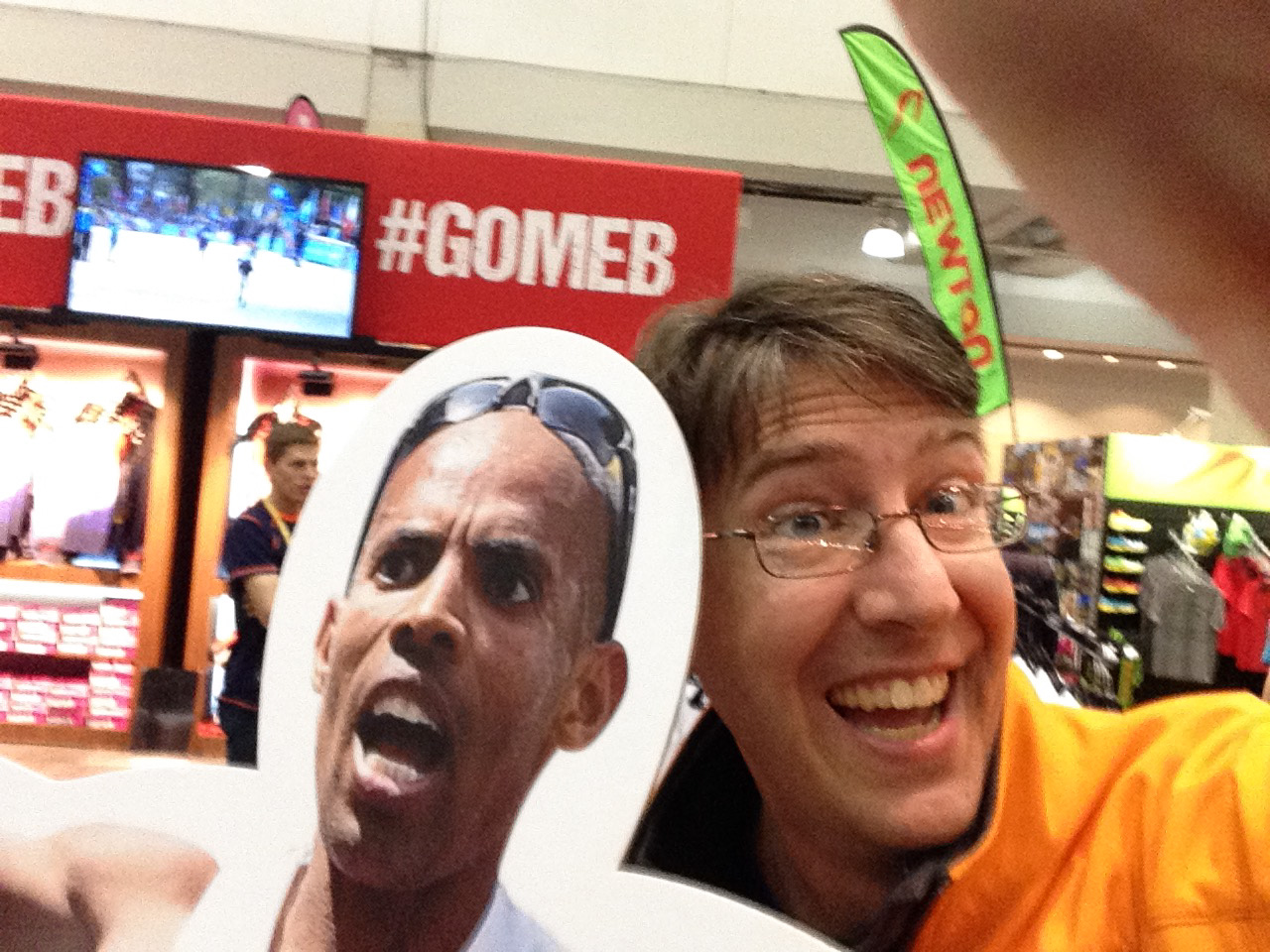 Hangin' with Meb