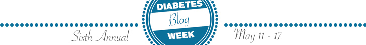 Diabetes Blog Week Banner