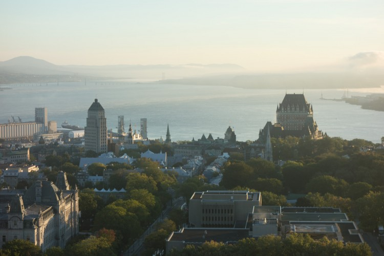 Frontenac and the Saint Lawrence