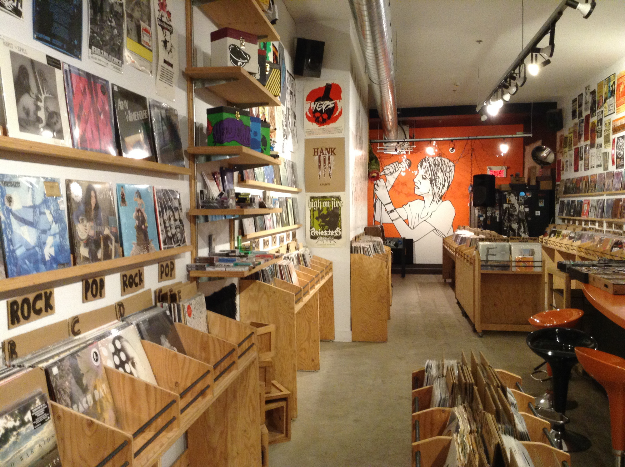 Le Knock-Out! record store