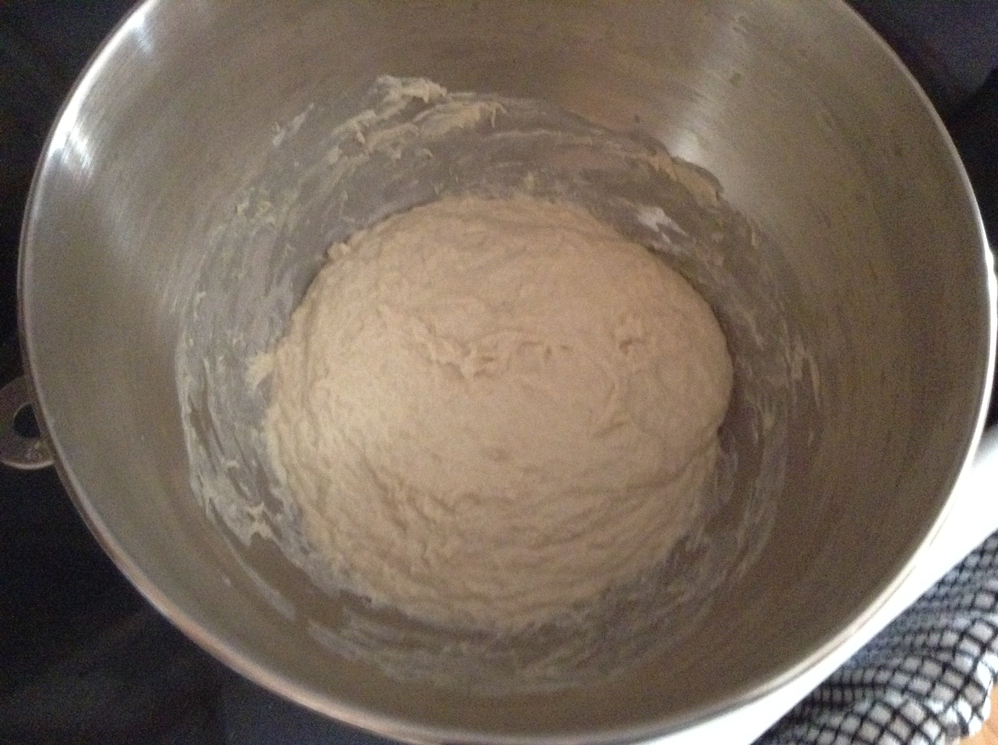 Preparing bake #2 - another pain de campagne