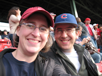 At Fenway Park - Boston (July 2009)