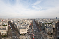 The Champs Elysees - Paris